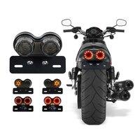 Hot Selling License Plate LED Brake Tail Turn Signal Light For Bobber Cafe Racer ATV Chopper