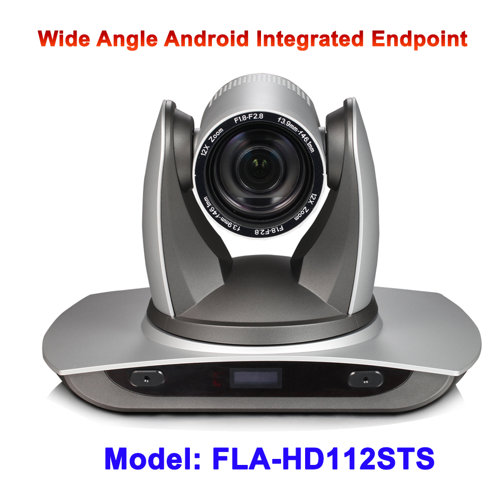 office video conference equipment 12x wide angle 2MP 1080P60 webcam with remote control Android integrated endpoint стоимость
