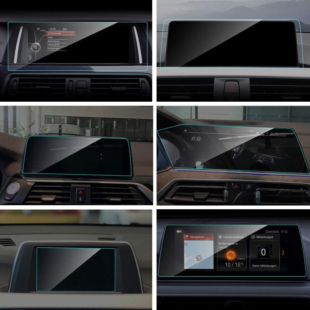 Protetor de Tela de Navegação do GPS do carro para BMW E90 G11 G12 F15 F16 F25 F26 F45 F46 F48 E70 E71 G05 g07 G32 X1 X2 X3 X4 X5 X6 X7