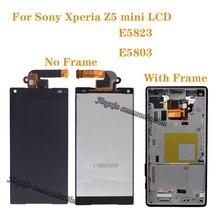 "4.6 ""tela original para Sony Xperia Z5 Compacto Display LCD touch screen para Sony XPERIA Z5 mini E5823 E5803 peças de Reparo do LCD"