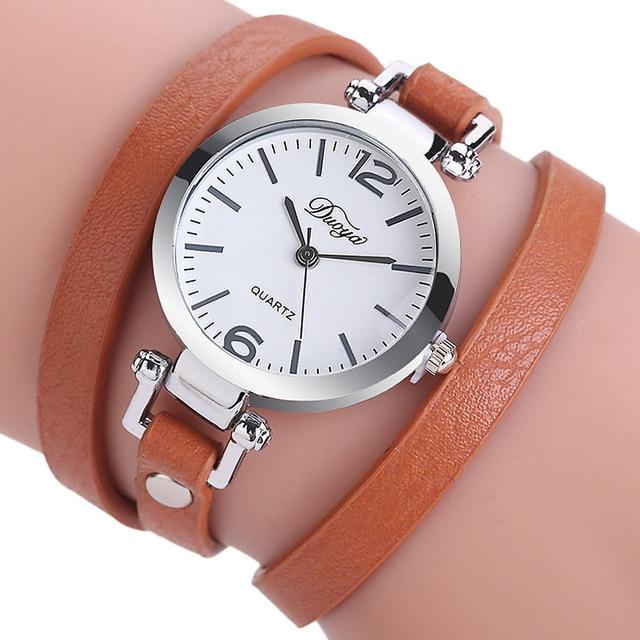 Fashion Women Watches Casual Bracelet Watch Diamond Circle Watch Quartz Wrist Wa