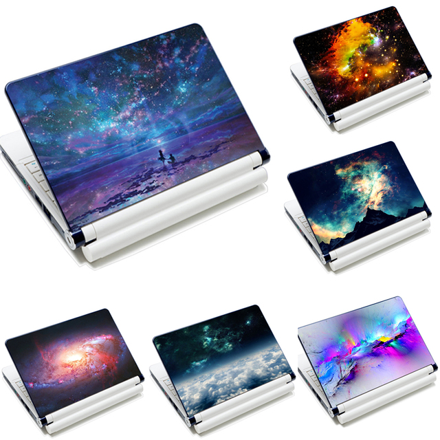 Netbook Laptop Skin Sticker Reusable Protector Cover Star Designs