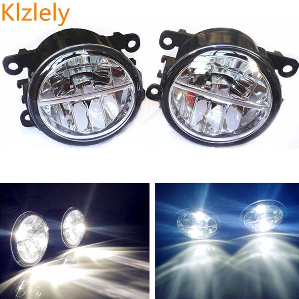 Pour Mitsubishi OUTLANDER 2 PAJERO 4 L200 Grandis 2003-2016 Voiture-style LED brouillard lamps10W haute luminosité lumières 1 set
