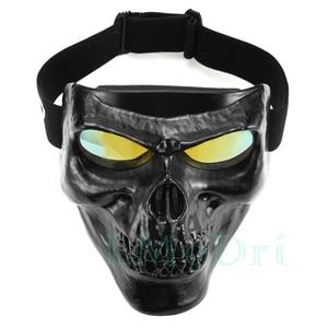 Image 5 - LMoDri Motorcycle Goggles Helmet Mask Outdoor Riding Motocross Skulls Windproof Wind Glasses Sandproof Goggle Kinight Equipment