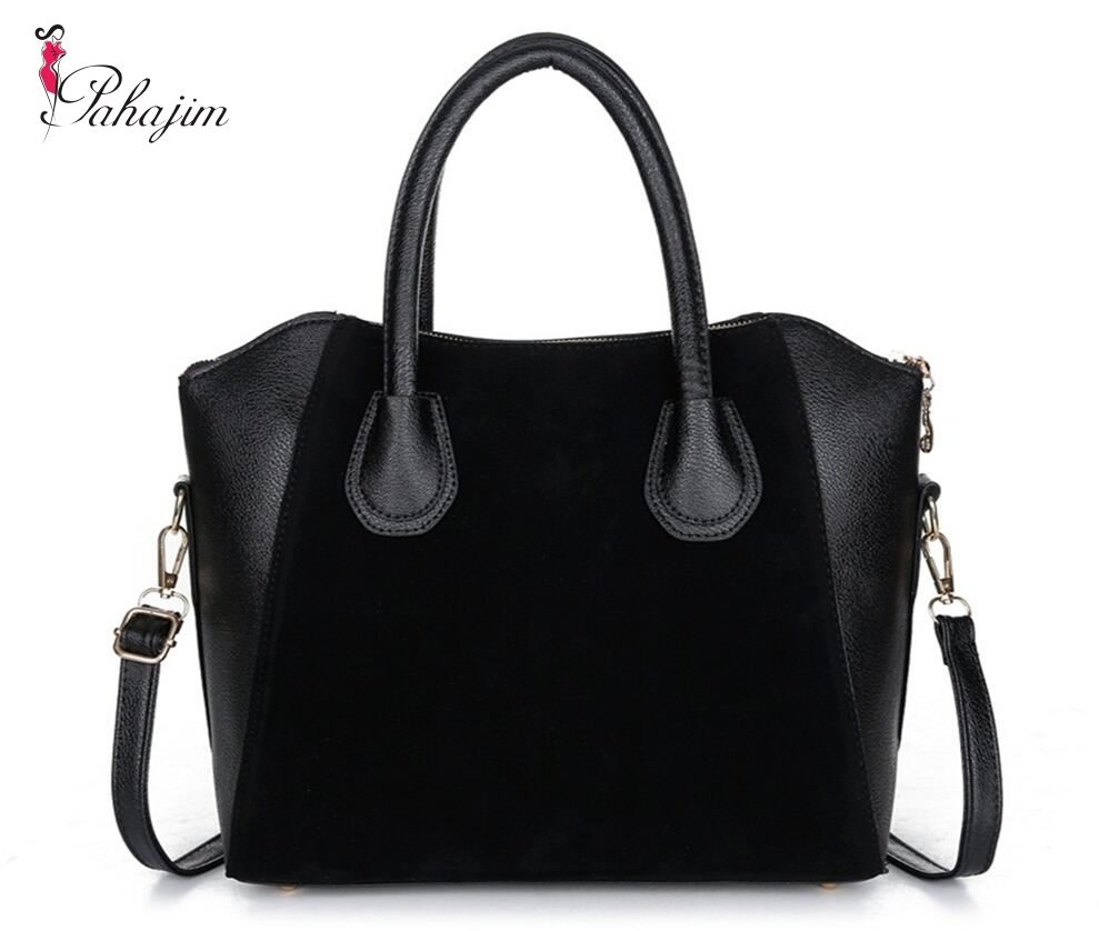 2017 fashion black women bag women handbag