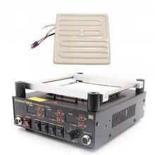 GORDAK 853 863 нагревательная пластина дальнего инфракрасного керамического нагревательного кирпича паяльная станция, посвященная 120*120 мм 600 Вт 220 В