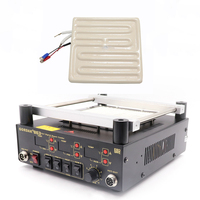 GORDAK 853 863 heizplatte fernen infrarot keramik heizung ziegel BGA rework station gewidmet 120*120 MM 600W 220v-in Lötstationen aus Werkzeug bei