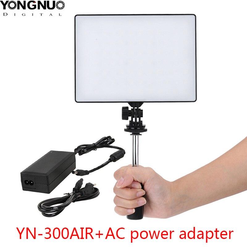 YONGNUO YN300 Air Photo Studio Camera Light Photography Lighting Led Video Light for Canon Nikon Pentax Sony Olympus DSLR Camera