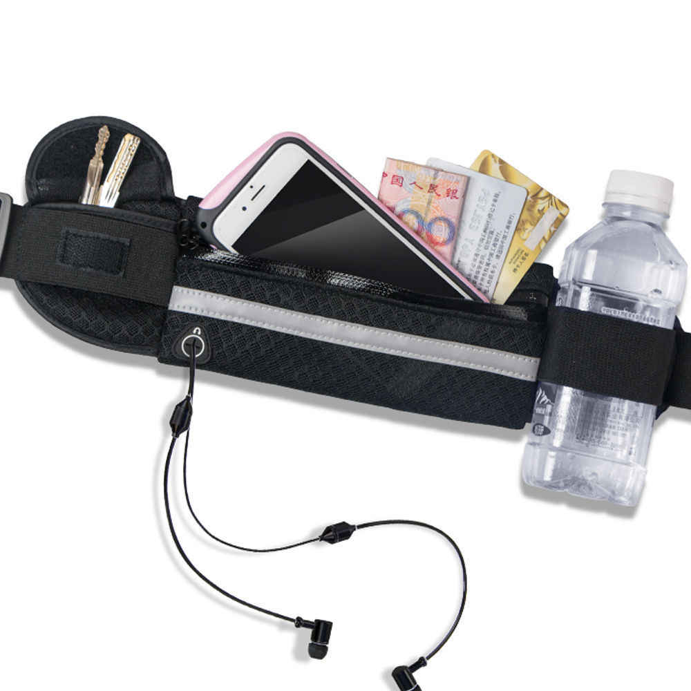 Сумка-пояс на талию, пояс для денег, для бега, бега, велоспорта, телефонов, спорта, бега, водонепроницаемый пояс, поясная сумка