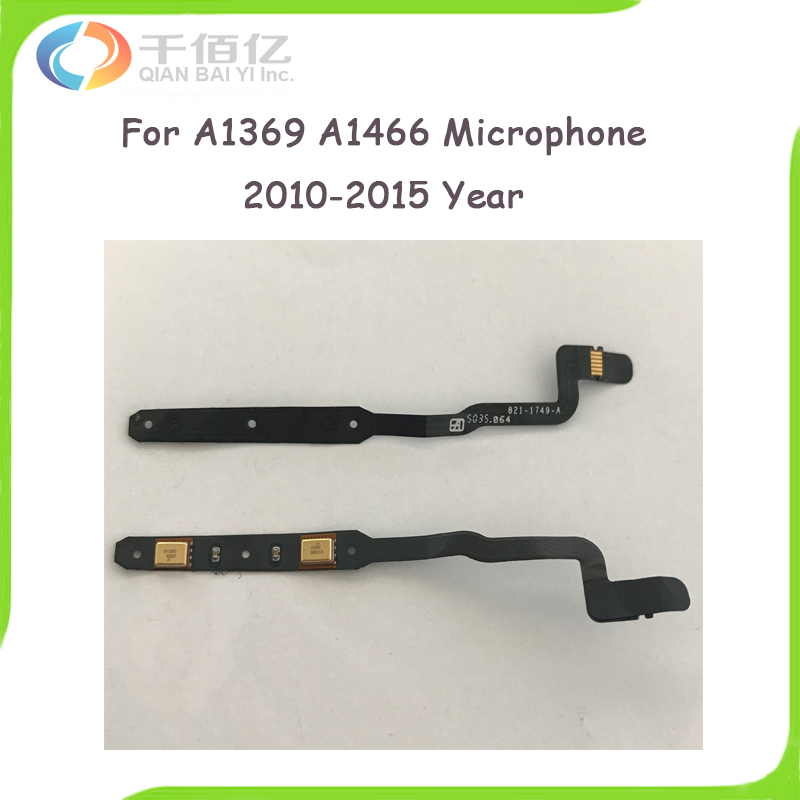 Original Used Laptop A1369 A1466 Microphone for Macbook Air 13.3 A1466 Microphone Cable 821-1749-A 2010-2015 Year