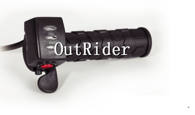 OR-07A1  high quality  36V  electric bicycle thumb throttle with LED