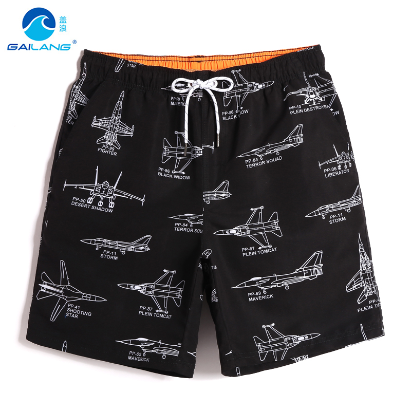Men's bathing suit   board     shorts   Hawaii bermudas sexy swimming trunks quick dry surfing camouflage beach   shorts   briefs mesh