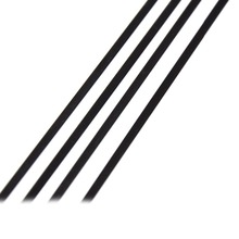 5pcs of 1mmx4mmx500mm 100 New Carbon Fiber Strip Flat Bar Carbon Fiber Tube