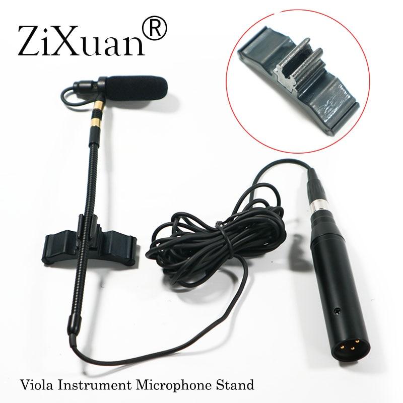Professional Music Instrument Microphone Condenser Viola Microfone for Shure AKG Samson Wireless System XLR Mini Transmitter