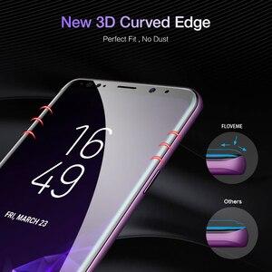 Image 3 - FLOVEME Protector de pantalla de cobertura completa para Samsung Galaxy S10, S8, S9, S10 Plus, S10e, Note 8, 9, 3D, película protectora suave curva, no cristal