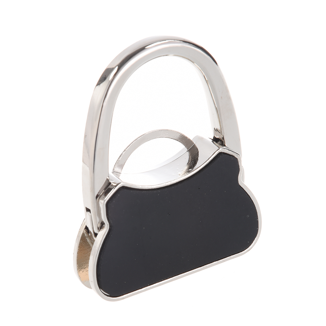 Metal Rhinestone Folding Handbag Purse Table Hook Hanger Holder