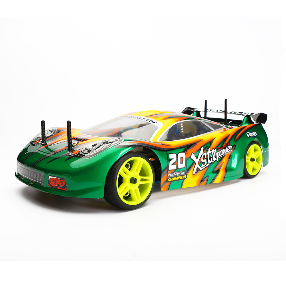 HSP RC Car 4wd Nitro Gas Power  Remote Control Car 1/10 Scale On Road Drift Racing 94122 Xstr High Speed Hobby Rc Drift  Car 1pcs hsp 02023 clutch bell double gears for 1 10 nitro powered on road rc drift car gear upgrade parts