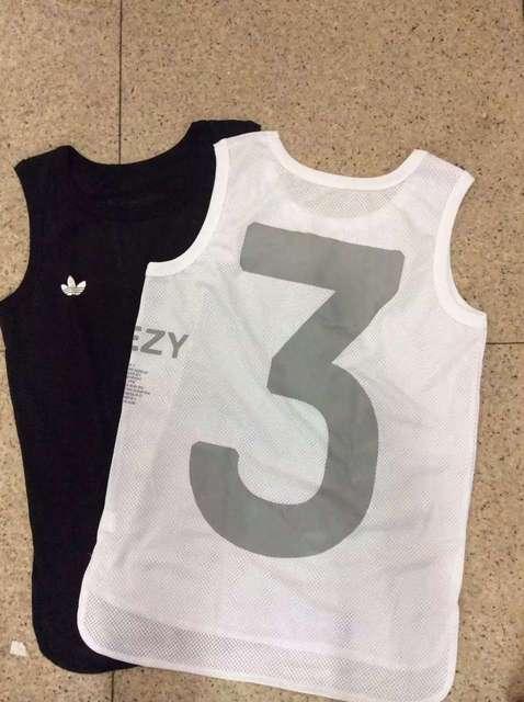 d3f06817eeba6 Fashion Yeezy 3 Sport Mesh Tank top men and Women Summer Beach Tank Tops  Yeezus Kanye