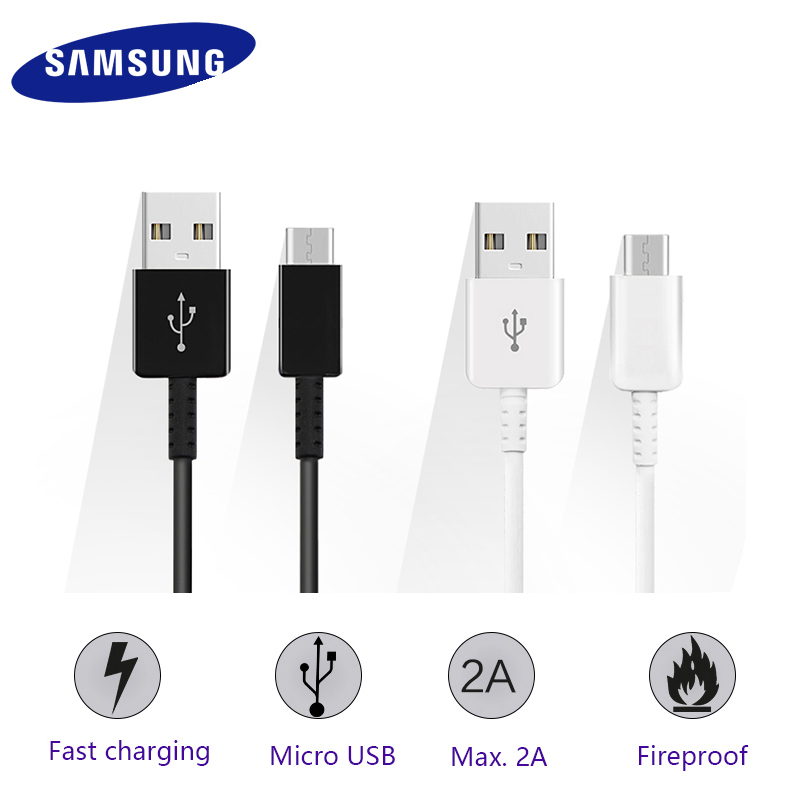 Samsung Type C Cable for Galaxy S8 S9 Plus Note 8 Note8 C7 C9 Pro1.5m 2A Mobilephone fast charging Type-C USB data cable