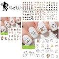 Beautome Adorable Nail Art Stickers Wechat Emoji Pegatina Paquete de Diseño de Transferencia de Agua Calcomanía de Uñas Para Uñas de Arte Decoraciones QJ859