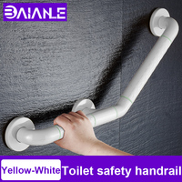 Toilet Elderly Handrail Stainless Steel Stairs Handrails Wall Mounted Bathroom Shower Tub Support Anti Slip Handle Garb Bar 45M