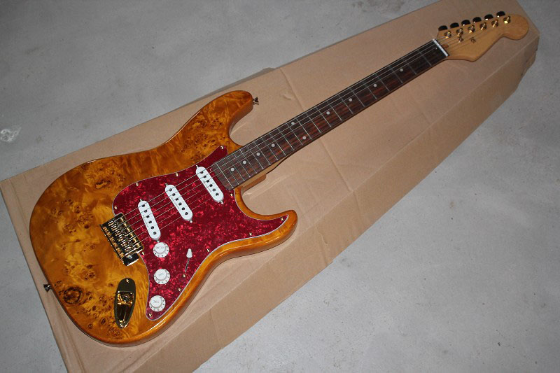 . Free Shipping! Factory Guitar Top Quality Stratocaster Custom Body Golden Hardware Electric Guitar custom shop . new arrival high quality left handed white electric guitar free shipping high quality guitar custom shop