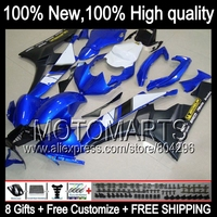 Body Body For YAMAHA YZFR6 06 07 YZF 600 Blue Black YZF R 6 YZF600 JK968