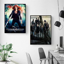 Shadowhunters The Mortal Instruments Canvas Prints Modern Painting Posters Wall Art Pictures For Living Room Decoration No Frame