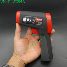 Buy Infrared thermometer UNI-T UT303A Non Contact Laser Gun Infrared IR Thermometer LCD digital display -32~650 degree