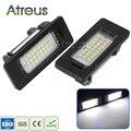 2 Pcs LED Luzes Da Placa de Licença 12 V SMD3528 Lâmpada Número Da Placa Para BMW E60 M5 E90 E92 E93 E82 E88 E39 X5 E70 X6 E71 E72 Acessórios