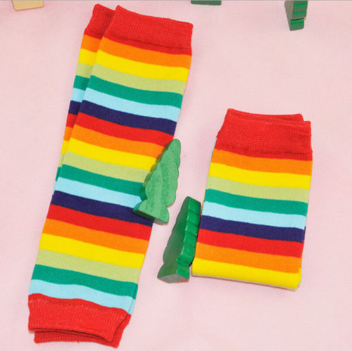 Newborn-Toddler-Kids-Boy-Girl-Winter-Leg-Warmer-Tights-Cute-Rainbow-Stripe-4