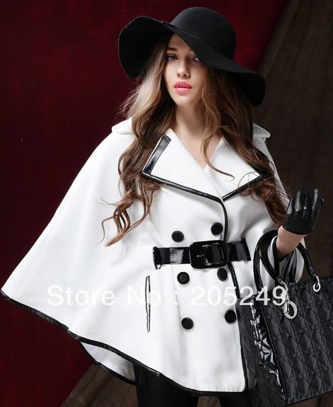 Senhoras casaco de inverno bonito casaco capa de inverno