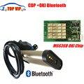 2 unids/lote Reciente V2013.03 OBD2 Escáner TCS CDP PRO Herramienta de Diagnóstico Auto Com Con Bluetooth CDP OKI Chip (Viruta de M6636B OKI)