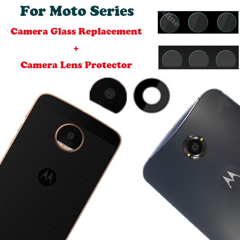 official photos d1d40 a6c33 US $3.69  For Motorola Moto Z/Google Nexus 6 Camera Glass Lens Replacement  Tempered Glass Back Cover Protection Rear Sticker Accessories on ...