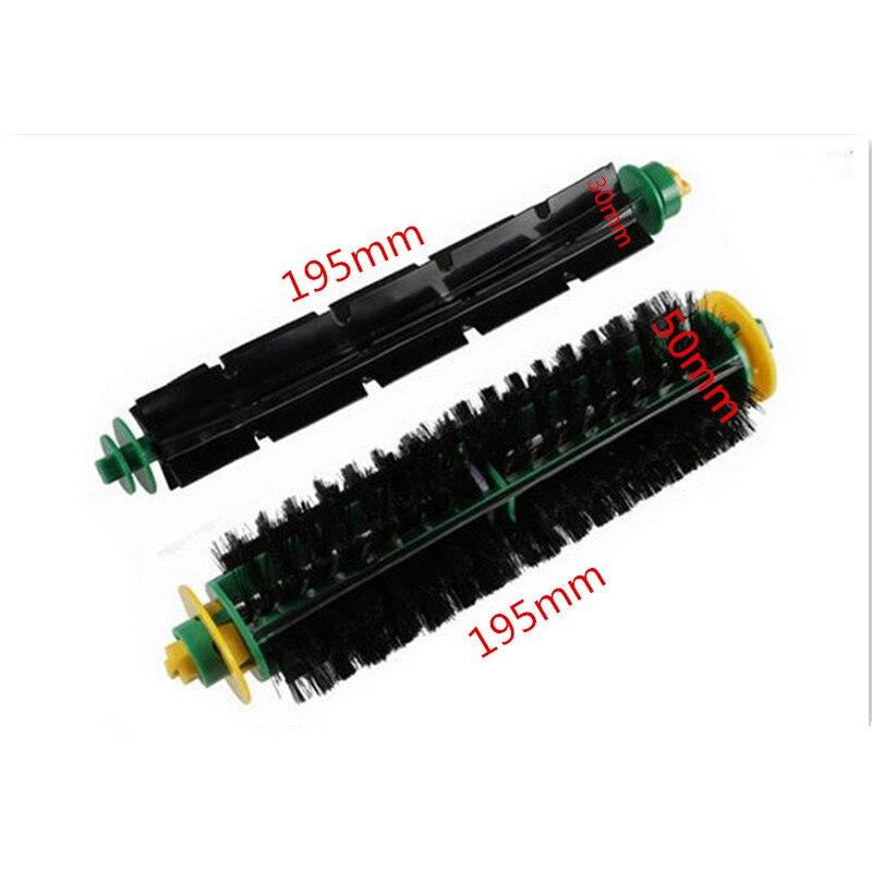 500 Series Vacuum Cleaner Roller Brush 564 52708 56708 Bristle Brush Vacuum Cleaner Brush Replacement Parts bristle brush flexible beater brush fit for irobot roomba 500 600 700 series 550 650 660 760 770 780 790 vacuum cleaner parts