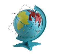 Blue earth globe puzzle cube Классические Игрушки Куб 2*2*2 Блок Головоломки Скорость Magic Cube 7.2 см Магико обучение & Обучающие Головоломки Игрушки