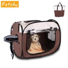 Petshy Portable Pet Drying bag Folding Comfort Waterproof Large Size Capacity Bag Dog Cat Bath Hair Box
