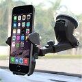 Универсальный автомобильный держатель для телефона на лобовое стекло с длинной горловиной 360 градусов для iPhone X 8 7 7s 6s Plus 6s 5S 5c подставка для ...