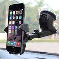 Universal windshield Car Phone Mount Holder Long Neck 360 Degree For iPhone X 8 7 7s 6s Plus 6s 5s 5c Stand Smartphone holder