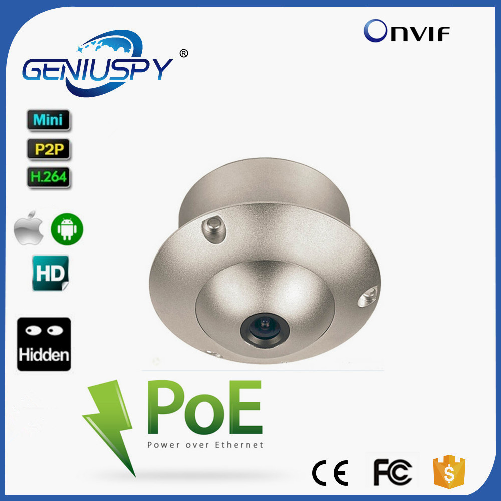Board Lens Wide Angle Lens Mini Flying Saucer Dome H.264 ONVIF Security Surveillance CCTV IP Camera POE UFO Camera For Elevator security ip camera outdoor h 264 2mp onvif 2 0 cctv full hd 1080p 2 0megapixel dome 2 8mm lens wide angle ir cut filter