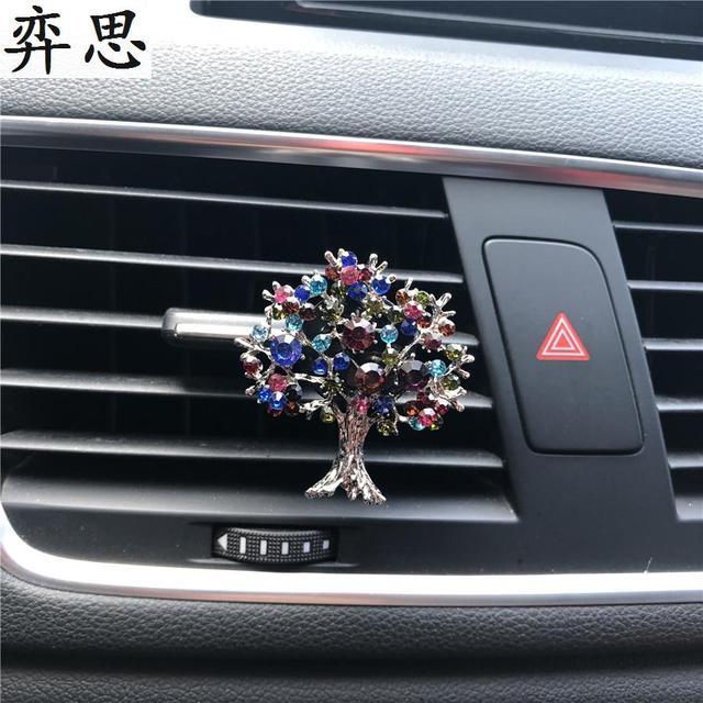 Color drill fruit trees car decorative perfume air freshener Cartoon ...