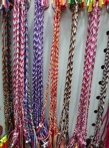 Image 2 - 120 sztuk/partia kolorowe pleciony tkane bransoletki przyjaźni szerokości Retro Handmade Nepal genewa brazylijski wielokolorowy sznurek przewód