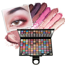 MUSIC ROSE 100 Color Colorful Eyeshadow Palette Shimmer Blendable Bright Eye Shadow Pallete  Powder Pigmented Makeup