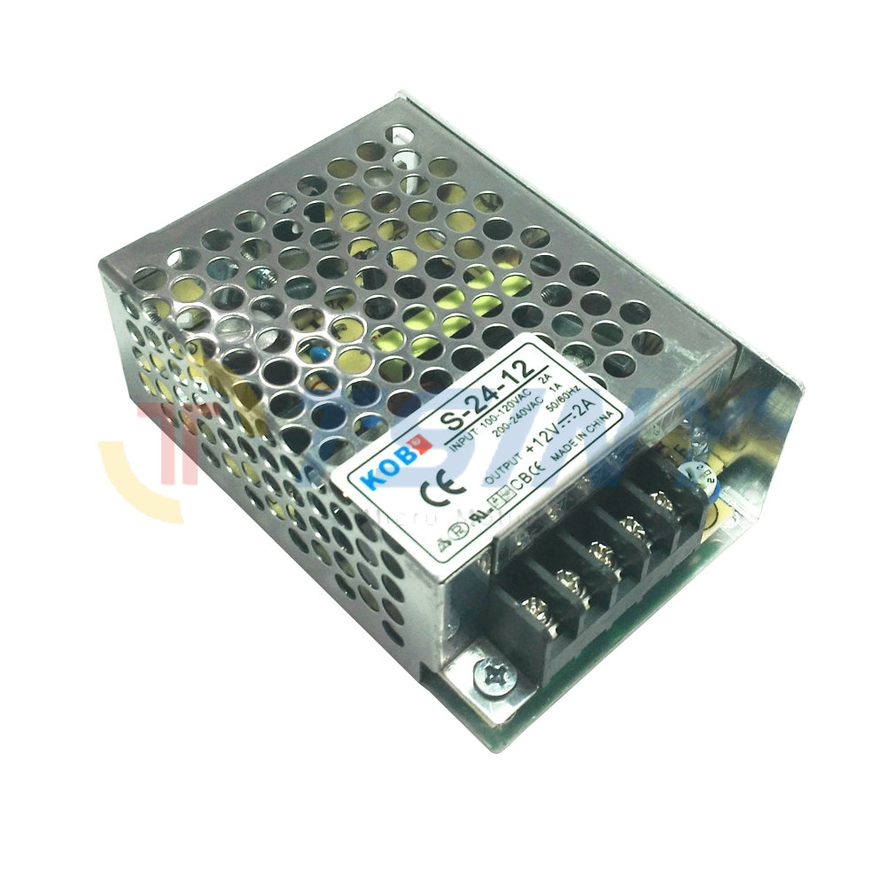 12V 2A Switching Power Supply 50~60HZ Output Power 24W AC 100~240V to DC 12V Power Adapter Transformer original meanwell 12v 37 5a 450w se 450 12 switching power supply ac to dc 12v transformer 2 years warranty