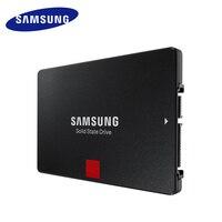 SAMSUNG 860 PRO Внутренний твердотельный диск 256 GB 512 GB 1 ТБ SSD SATAIII SATA3 2,5 дюйма V NAND выносливость ноутбуков настольных ПК
