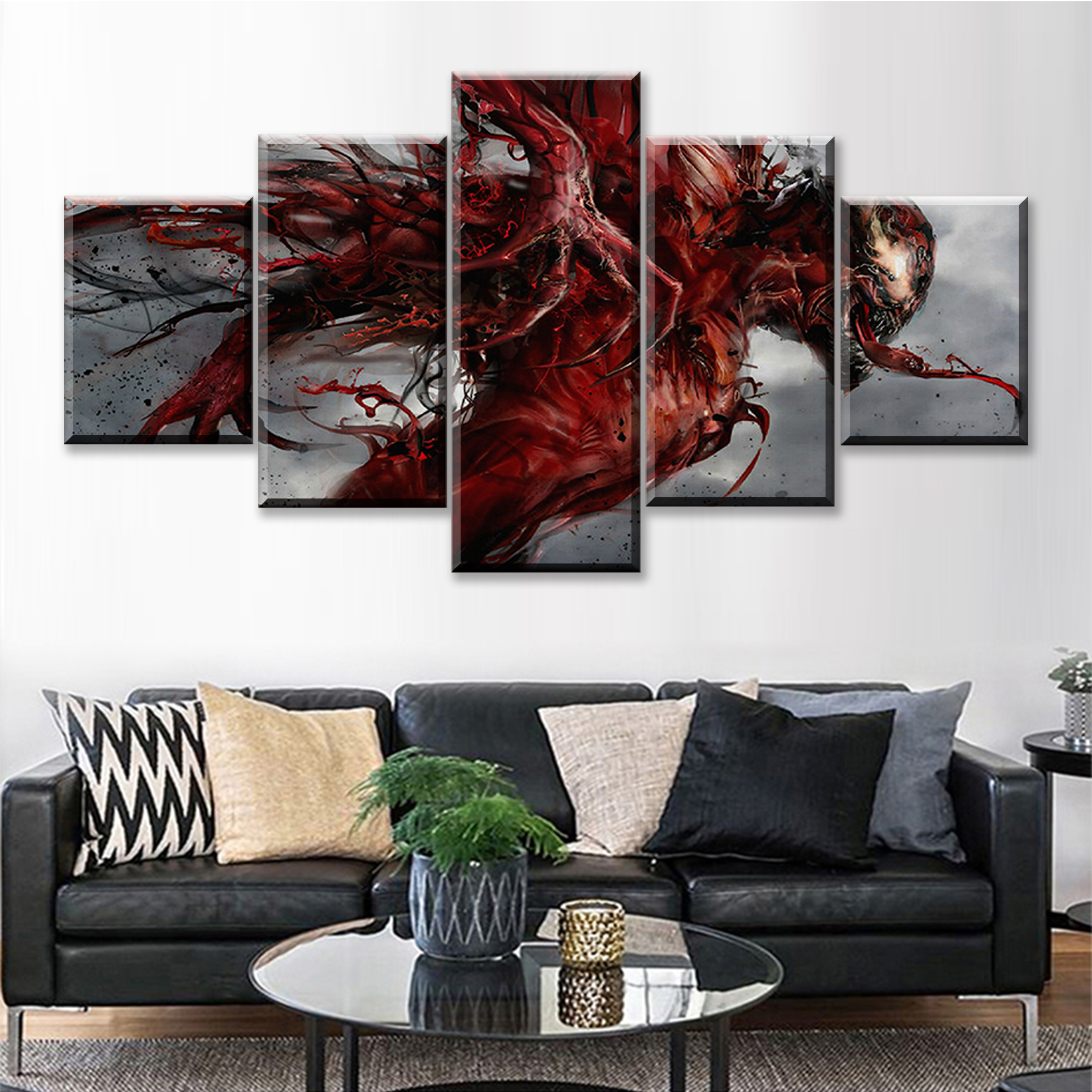Modular Canvas HD Printed Painting Frame Modern Pictures Home Decor 5 Panels Movie Characters Poster Wall Artwork
