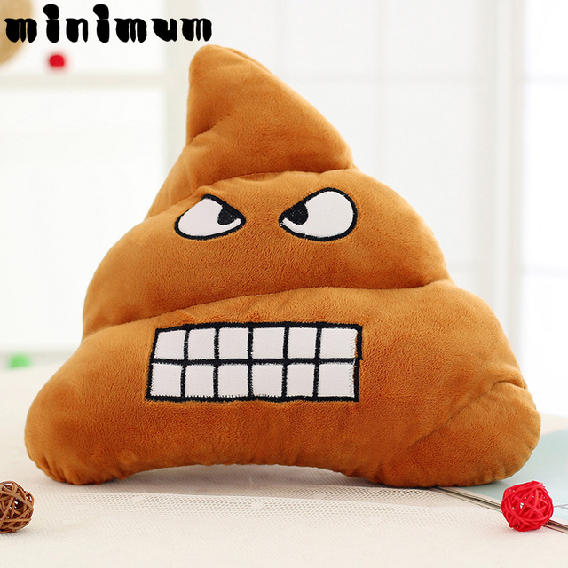 5 types mini emoji pillows poop smiley emotion soft decorative cushions stuffed plush toy doll christmas - Christmas Poop
