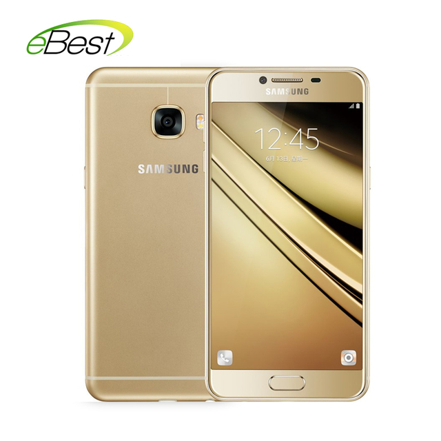 Samsung galaxy c5/c5000 4 г lte мобильный телефон супер AMOLED 5.2 дюймов FHD Экран Snapdragon 617 Окта Ядро 16MP камера