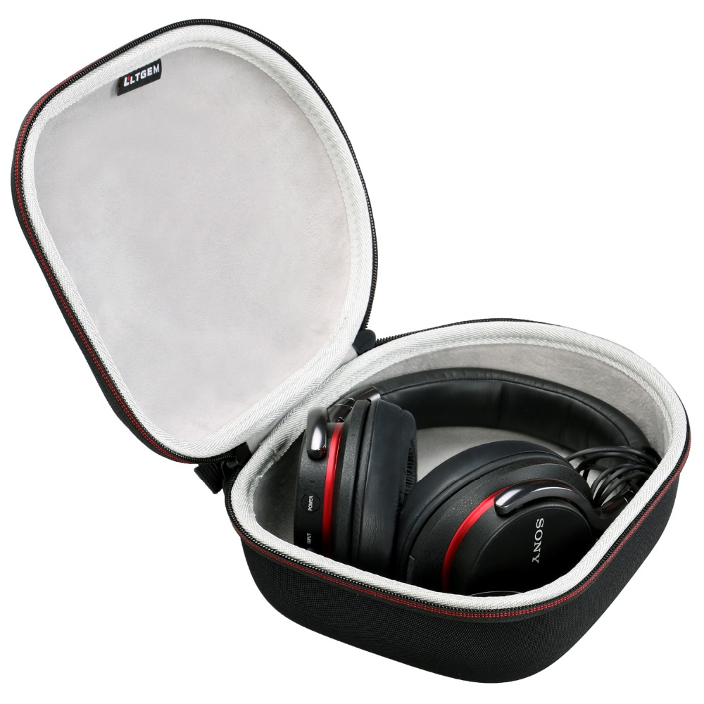 LTGEM Hard Headphone Case Travel Bag For Sony, Audio-Technica, Xo Vision, Behringer, Beats, Photive, Philips, Bose, Maxell, Pana