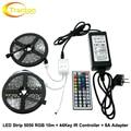 RGB LED Strip 5050 10m + IR 44Key Controller + DC12V 8A Adapter Flexible LED Light RGB Sets.